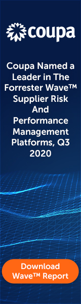 Coupa Named a Leader in The Forrester Wave Supplier Risk and Performance Management Platforms