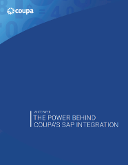 SAP ERP Integration | SAP System Integration | Coupa Software