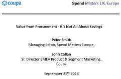 Resources | Procurement and Spend Analytics | Coupa Software