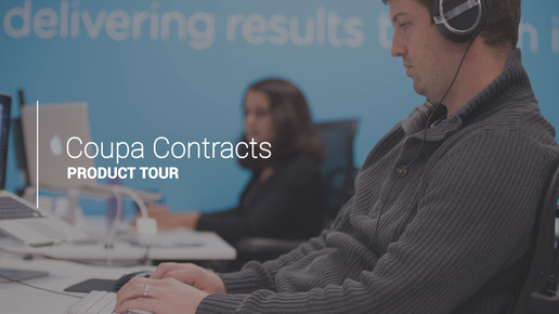 Contract Management Product Tour