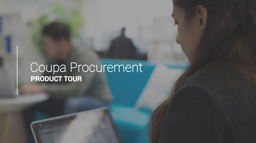 Procurement Product Tour
