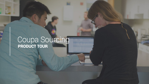 Sourcing Product Tour