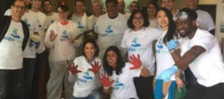 Coupa Employees Volunteer