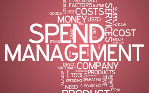 A word map of procurement and management terms.