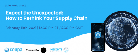 Expect the Unexpected: How to Rethink Your Supply Chain
