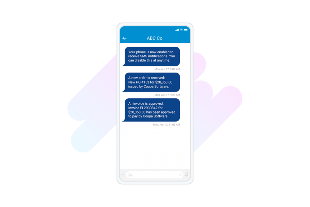SMS Notifications and Actions