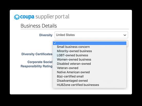 Secure Supplier Profiles